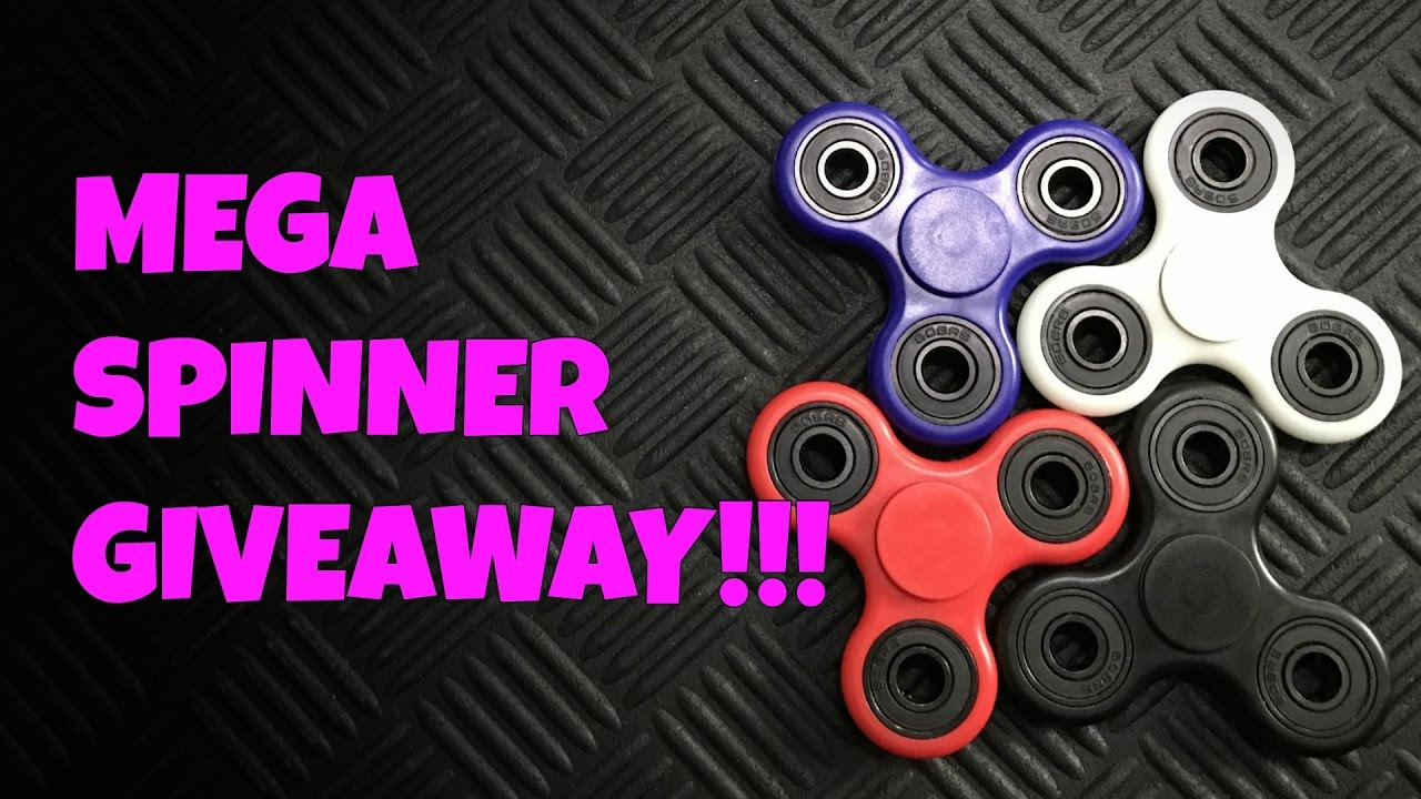 Free Fidget Spinner Giveaway – 52 More Giveaway Available