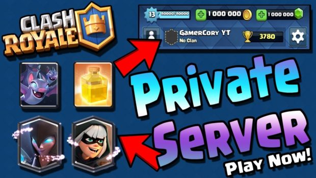 Clah royale private server